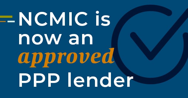 NCMIC is Accepting PPP Applications