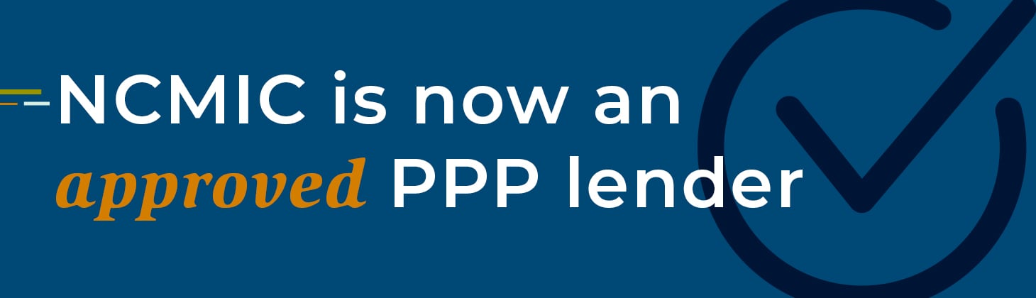 NCMIC is now an approved ppp lender