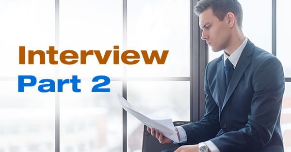 Get Ready for Your Interview-Part 2