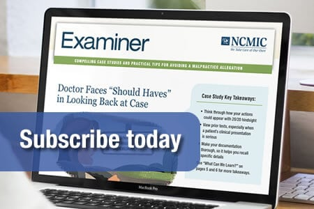 Subscribe to Examiner