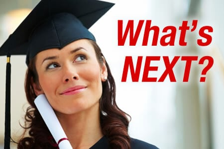 You're Graduating - What Happens Next?
