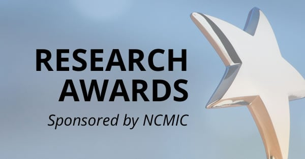 WFC Research Awards Sponsored by NCMIC were Announced at DC2017