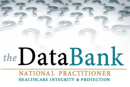 What is the National Practitioner Data Bank?