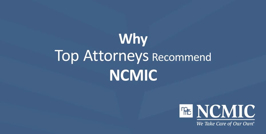 Top Attorneys Recommend NCMIC