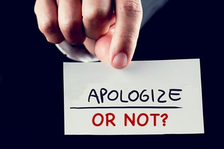 Attorney's Advice on When and How to Apologize