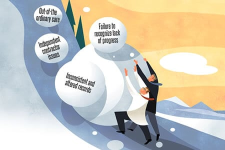 Factors Snowball to Make for Challenging Case
