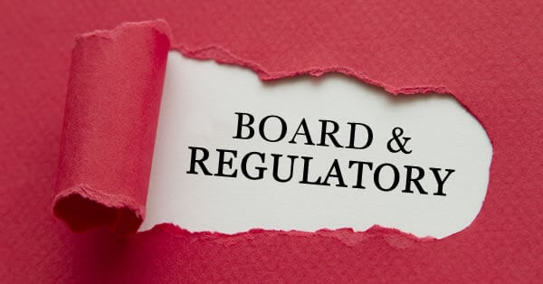 Board & Regulatory